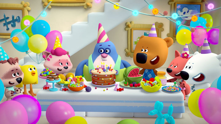 Be-be-bears Happy Birthday • Parovoz Studio