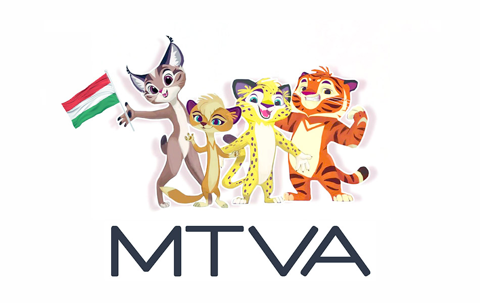 The audience of Hungary will see animated series «Leo and Tig» on MTVA net