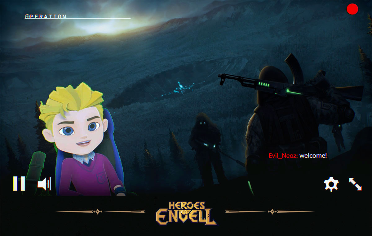Heroes of Envell • Travelling into virtual world • Phil gamestream