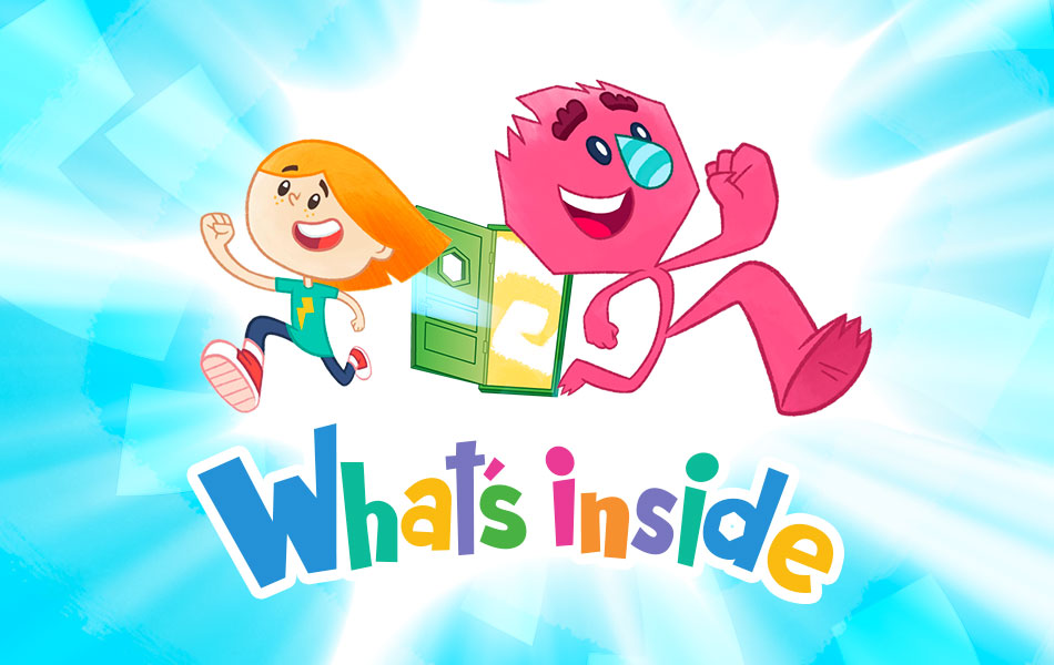 What's inside? Parovoz studio released an animated series for little questioners.