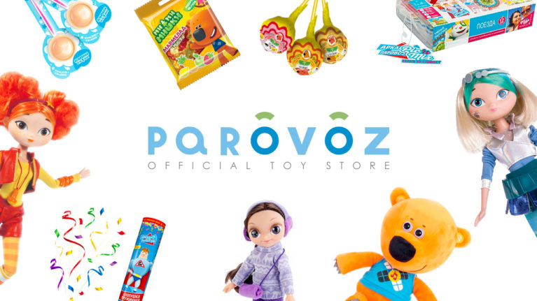 The official toy store Parovoz is opened!