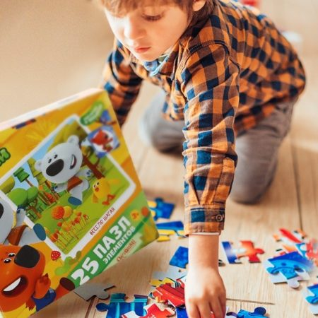 Be-be-bears puzzles are the best-selling in Russia