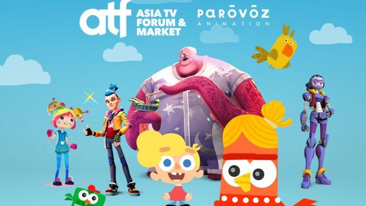 """PAROVOZ"" STUDIO WILL PRESENT ITS CARTOONS AT ASIA TELEVISION FORUM"