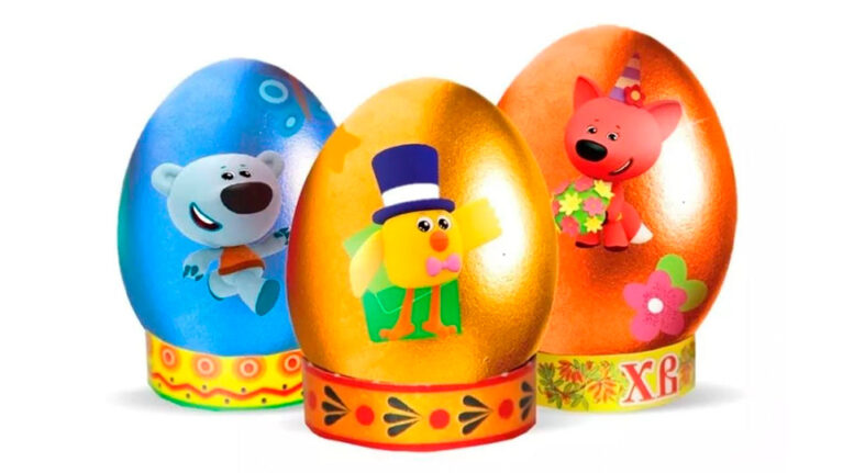 COLORFUL EASTER SET WITH BE-BE-BEARS