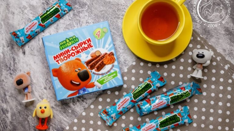 A NEW RANGE OF CURD CHEESE DESSERTS UNDER THE BE-BE-BEARS BRAND